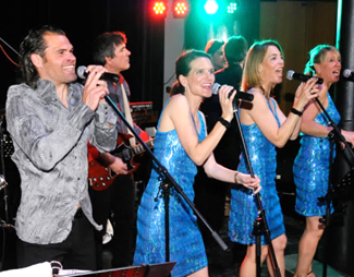 Definitely Soul Band Live Party Musik Auftritt im Spielcasino Bad Wiessee am Tegernsee